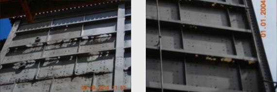 reconstruction en complexe stratifié